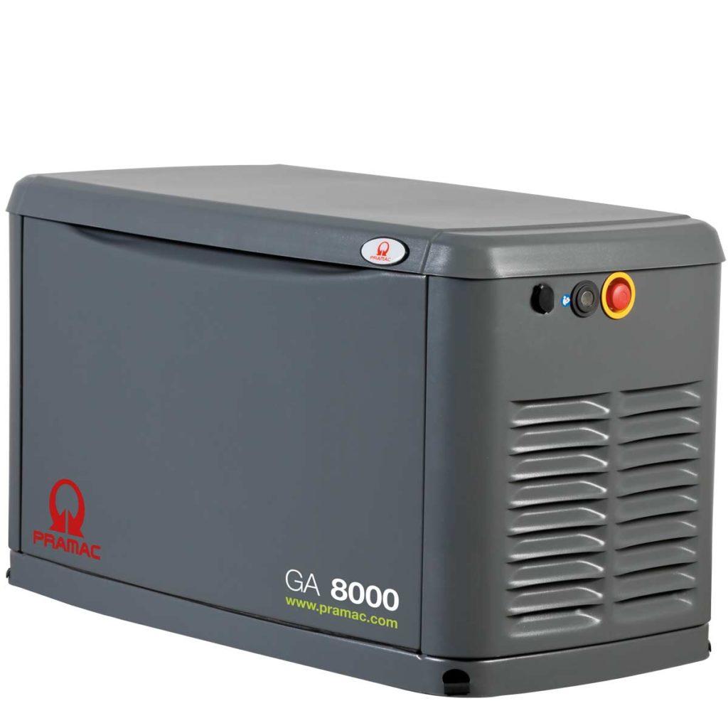 Notstromaggregat Gas